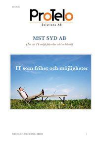 Kund case Mstsyd -Protelo